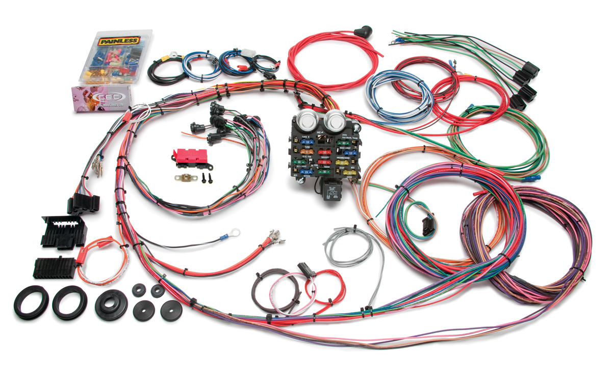 19 Circuit Classic Customizable 1963-66 GMC / Chevy Pickup Truck Harness |  Painless PerformancePainless Wiring