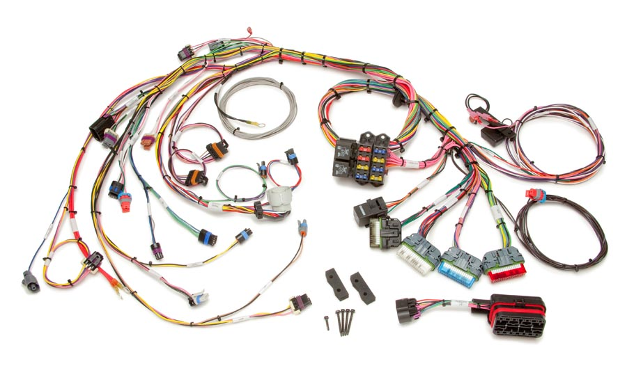 1996-99 GM Vortec 5.0 & 5.7L V8 (CMFI) Harness Std. Length By Painless Performance
