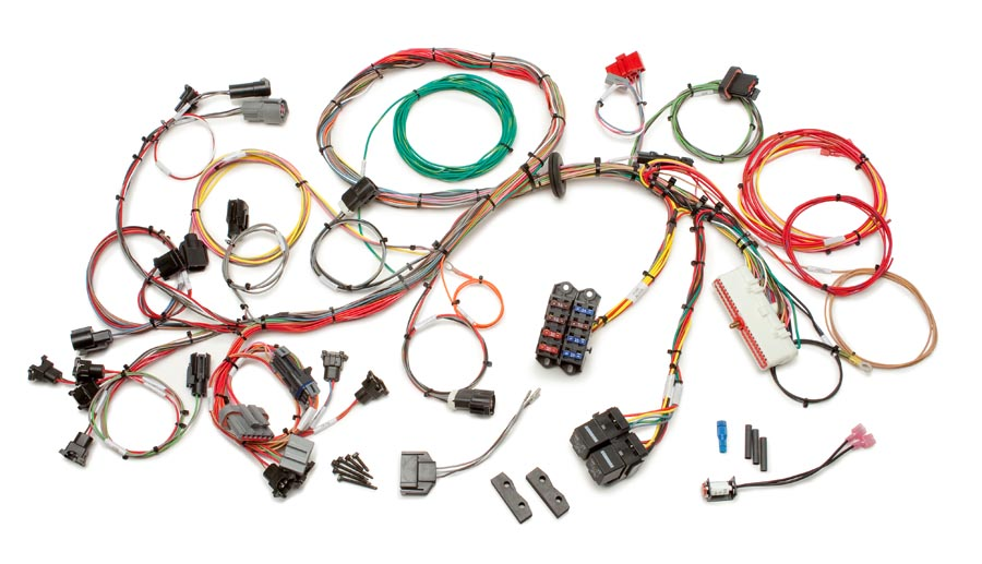 Ford 1986 - 1995 5.0L Fuel Injection Wiring Harness - Std. Length By Painless Performance