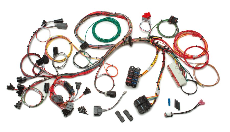 Ford 1986 - 1995 5.0L Fuel Injection Wiring Harness Extra Length By Painless Performance