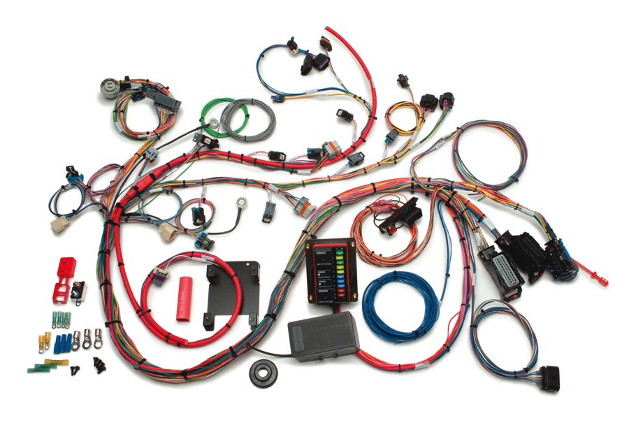 2007-2012 GM Gen IV 4.8-6.2L EFI Harness - Throttle by Wire By Painless Performance