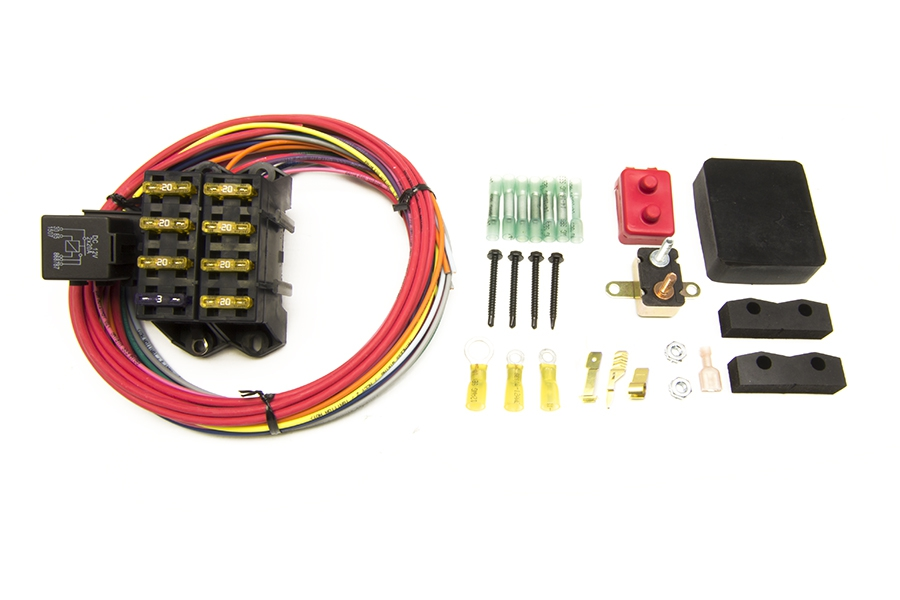 CirKit Boss Auxiliary Fuse Block/7 Circuits/Weatherproof (3 Constant - 4  Ign.) | Painless PerformancePainless Wiring