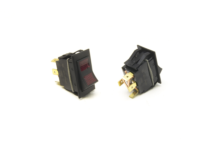 Rocker Switch / On-Off-On / Red Lighted By Painless Performance